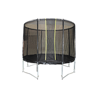 Батут KIDIGO™ VIP BLACK 244 см с защитной сеткой ВТ244