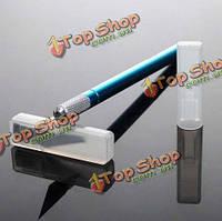 Металлическая ручка хобби резак нож ремесла с 6шт лезвия режущего инструмента