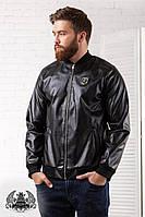 Куртка мужская кожзам РО1055