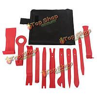 11 шт/накладка двери кузова для удаления удаления установщика монтировку инструмент комплект