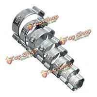 10шт оцинкованная 2ear зажим воздуха топливный шланг трубки уплотнительное клип