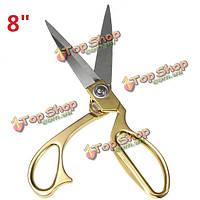 8-дюймов ножницы пошив из нержавеющей стали пошив ножницы ткани ремесло резки ceauration