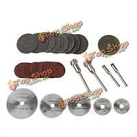 39шт смола для резки металла рабочих колес пакет дисков для дремеля роторный инструмент