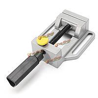 Литой алюминий сверлильный станок тиски вращать ручной инструмент быстрого отпуска механический зажим