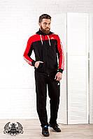 Мужской спортивный костюм РО1028 красный