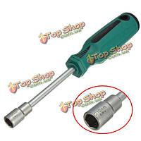 10мм черный металл торцевых ключей отвертка с шестигранной гайкой-ключ ручной инструмент