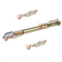 Золотой тон анти-скольжения ручка подачи масла для резки стекла режущий инструмент