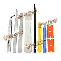 9в1 Ремонтные открытия для рычага инструменты для ремонта сотовых телефонов ноутбук комплект