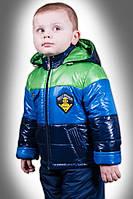 Детские демисезонные комбинезоны мальчикам р.86,92,98, синтепон, флис, есть манжеты