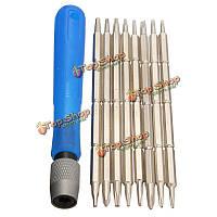 8в1 магнитные отвертки установить точность отвертки набор инструментов тор шестигранные мобильный телефон инструменты ремонт ноутбуков