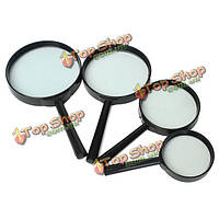 Карманное увеличительное стекло 5x минимальное искажение лупой инструмента оптического считывания