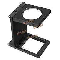 10X 28мм мини-микроскоп складной лупу лупу со шкалой