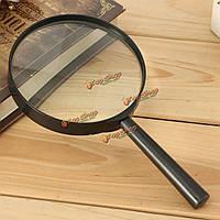 100мм 3x карманное увеличительное стекло минимальное искажение увеличитель инструмент оптического считывания