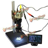800TVL 100x микроскоп камеры выход BNC/AV с 4.3-дюйма ЖК-монитор