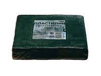 """Пластилин скульптурный твердый, 0,5 кг, оливковый """"ГАММА"""" МОСКВА"""