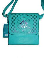 Элегантная сумочка из эко-кожи длинная ручка 3 цвета Little Pigeon 9988