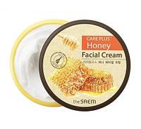 Медовый увлажняющий крем The Saem Care Plus Honey Facial Cream