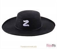 Шляпа Зорро Мал 7946