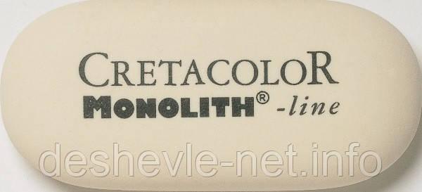 Резинка MONOLITH, большая (50х25мм.), Cretacolor, фото 2
