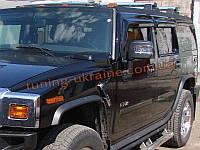 Дефлекторы боковых окон Sim для Hummer H2 Внедорожник 2002