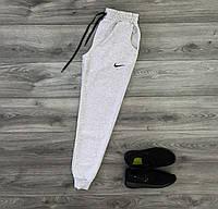 Мужские спортивные штаны, серые, трикотажные S