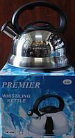 Чайник со свистком PREMIER 3 литра