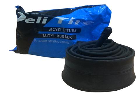 Камера велосипедная DeliTire 12 x 1/2 / 2 1/4 AV кривой вентиль