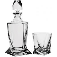Набор для виски 7 предметов, Bohemia Quadro, 164797, П/1