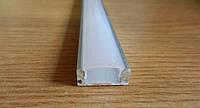 Алюминиевый профиль для светодиодной ленты + Рассеиватель