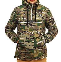 Зимняя теплая куртка анорак Ястребь мультикам