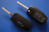 Ford - корпус выкидного ключа 3 кнопки, HU101