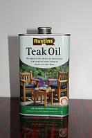 Тиковое масло, Teak Oil, 0.5 litre, Rustins