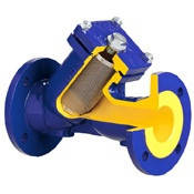 Фильтр осадочный фланцевый чугунный для воды ДУ 40, фото 1