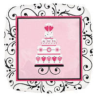 Гелевый шарик Свадебный торт  на свадьбу