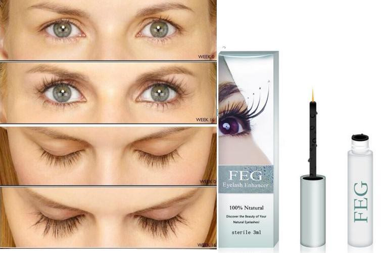 Сертифицированный Фэг. Сыворотка для роста ресниц и бровей FEG Eyelash Enhancer