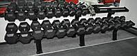 Обрезиненный Гантельный ряд 12,5-40 кг