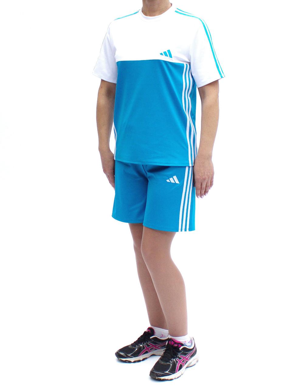 Летний спортивный костюм с шортами