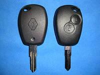 Renault - корпус ключа 2 кнопки, VAC102