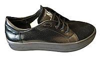 Ботинки осенние женские с замшевыми вставками