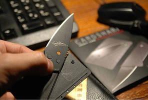 Нож карточка кредитка #100084