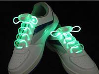 Светящиеся шнурки разных цветов 3-х режимные