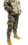 Костюм Камуфляж Дубок світлий ліс Полювання Риболовля, з капюшоном - 48,50,52,54,56, фото 3