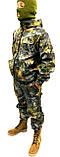 Костюм Камуфляж Дубок світлий ліс Полювання Риболовля, з капюшоном - 48,50,52,54,56, фото 4