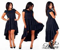 Модное женское платье ассиметрия