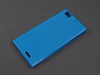 Чехол TPU  для Lenovo K900 голубой
