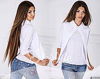 Женская весенняя блуза-обманка