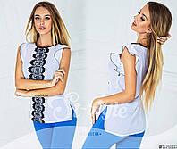 """Женская летняя блузка """" Роза """" Код:344028309"""