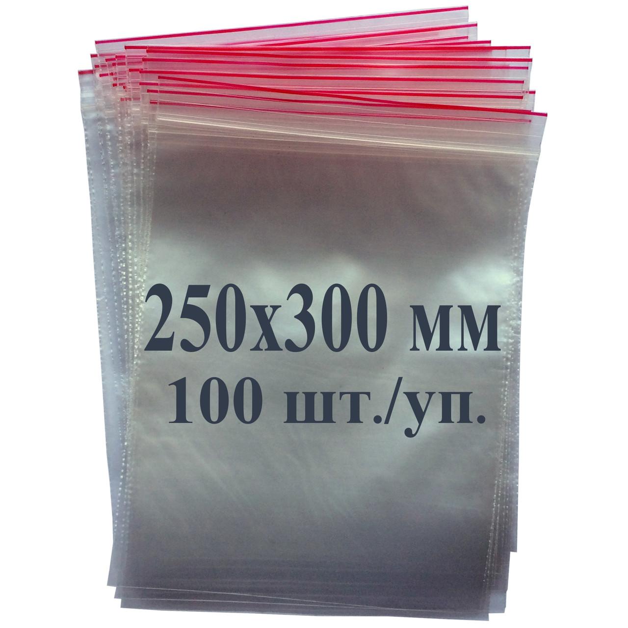 Пакет із застібкою Zip-lock 250*300 мм