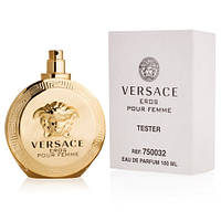 Тестер - туалетная вода Versace Eros pour femme (Версаче Эрос пур Фем), 100 мл