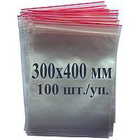 Пакет с застёжкой Zip lock 300*400 мм, фото 1